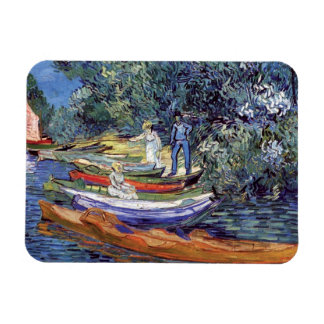 Vincent Van Gogh - Rowing Boats On The Banks Oise Magnet