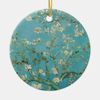 Vincent Van Gogh's Almond Blossoms Ceramic Ornament