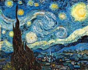 Vincent Van Gogh S Starry Night Bathroom Set