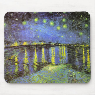 Vincent van Gogh s Starry Night Over the Rhone Mousepad