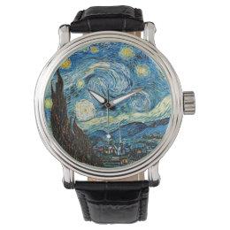 Vincent Van Gogh's Starry Night Wristwatch