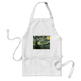 Vincent van Gogh s The Starry Night 1889 Aprons