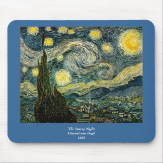Vincent van Gogh s The Starry Night 1889 Mousepads