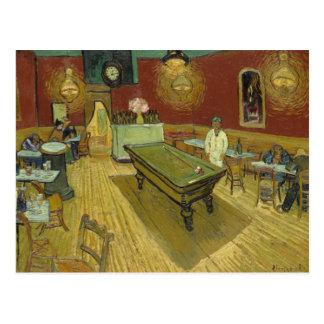 Vincent van Gogh - sala de billar Postal