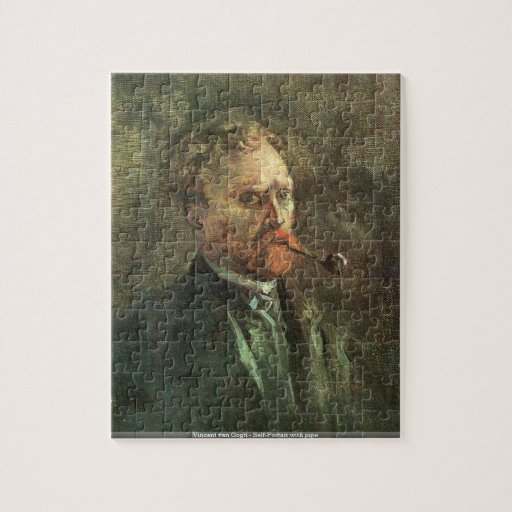 Vincent van Gogh - Self-Portait with pipe Puzzle