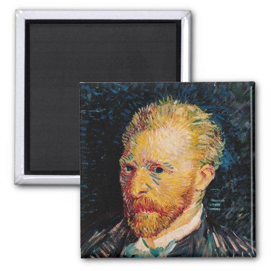 Vincent van Gogh | Self Portrait, 1887 Magnet