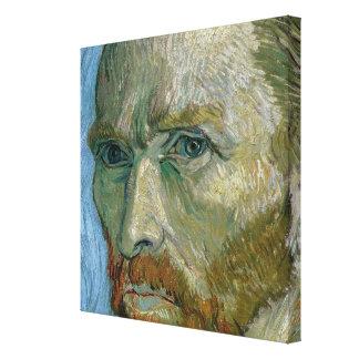 Vincent van Gogh   Self Portrait, 1889 Canvas Print