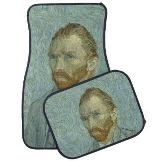 Vincent Van Gogh Self-Portrait 1889 Car Mat