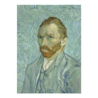 Vincent Van Gogh Self-Portrait 1889 Custom Invites