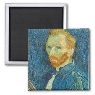 Vincent van Gogh | Self Portrait, 1889 Magnet