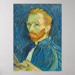 Vincent van Gogh | Self Portrait, 1889 Poster
