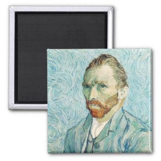 Vincent Van Gogh Self Portrait Blue Magnets