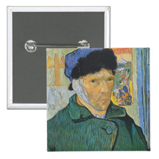 Vincent Van Gogh - Self Portrait Buttons