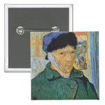 Vincent Van Gogh - Self Portrait Buttons