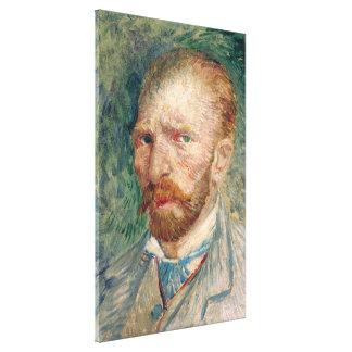Vincent Van Gogh Self Portrait Canvas Print