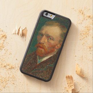 Vincent Van Gogh Self-Portrait Carved Maple iPhone 6 Bumper Case