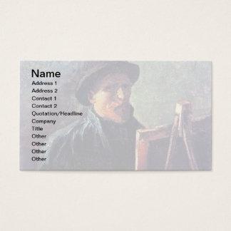 Vincent Van Gogh - Self Portrait Dark Felt Hat Business Card