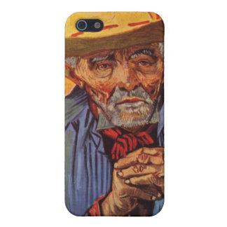 Vincent Van Gogh - Self Portrait Elderly iPhone SE/5/5s Cover