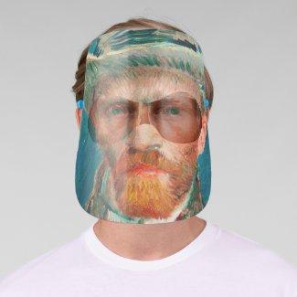 Vincent van Gogh Self Portrait Face Shield