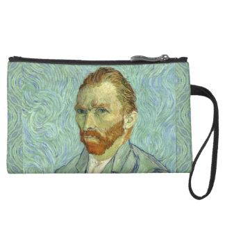 Vincent Van Gogh Self Portrait Fine Art Painting Wristlets