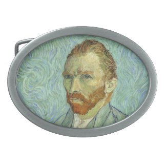 Vincent Van Gogh Self Portrait Fine Art Painting Belt Buckle