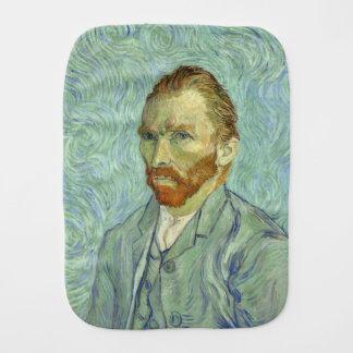 Vincent Van Gogh Self Portrait Fine Art Painting Burp Cloth