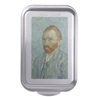 Vincent Van Gogh Self Portrait Fine Art Painting Cake Pan