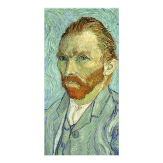 Vincent Van Gogh Self Portrait Fine Art Painting Card