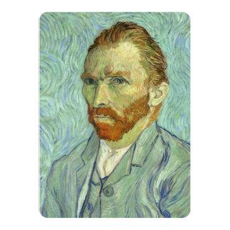 Vincent Van Gogh Self Portrait Fine Art Painting Card