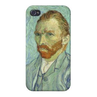 Vincent Van Gogh Self Portrait Fine Art Painting Case For iPhone 4
