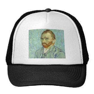 Vincent Van Gogh Self Portrait Fine Art Painting Trucker Hat