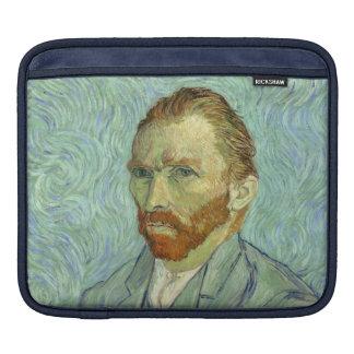 Vincent Van Gogh Self Portrait Fine Art Painting Sleeves For iPads