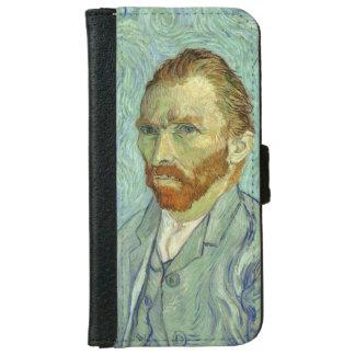 Vincent Van Gogh Self Portrait Fine Art Painting iPhone 6 Wallet Case