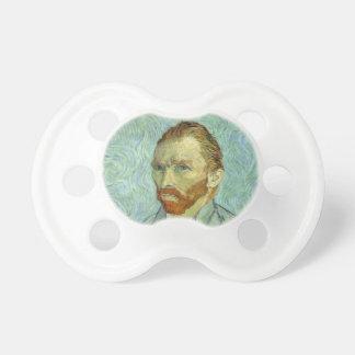 Vincent Van Gogh Self Portrait Fine Art Painting Pacifier