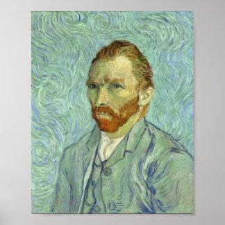 Vincent Van Gogh Self Portrait Fine Art Painting Poster