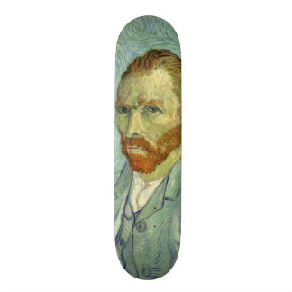 Vincent Van Gogh Self Portrait Fine Art Painting Skateboard Deck