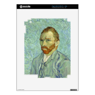 Vincent Van Gogh Self Portrait Fine Art Painting Skin For The iPad 2