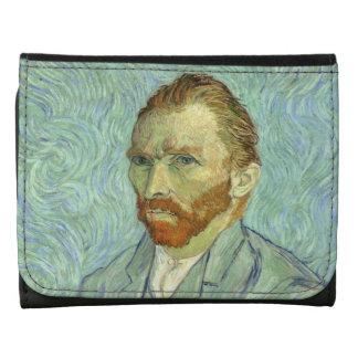 Vincent Van Gogh Self Portrait Fine Art Painting Wallets