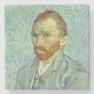 Vincent Van Gogh Self Portrait Stone Coaster