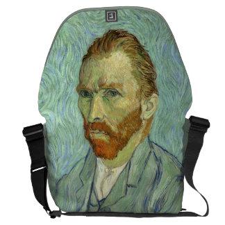 Vincent Van Gogh Self Portrait Messenger Bag