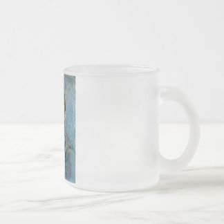 Vincent Van Gogh Self Portrait 10 Oz Frosted Glass Coffee Mug
