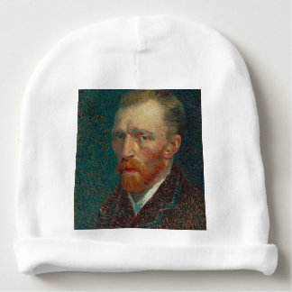 Vincent Van Gogh - Self Portrait Painting Baby Beanie