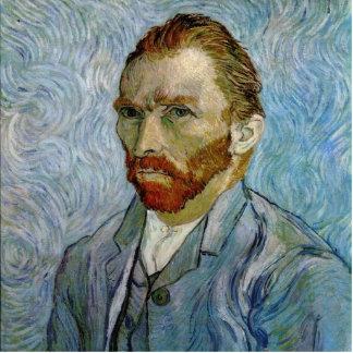 Vincent Van Gogh Self Portrait Photo Sculpture Ornament
