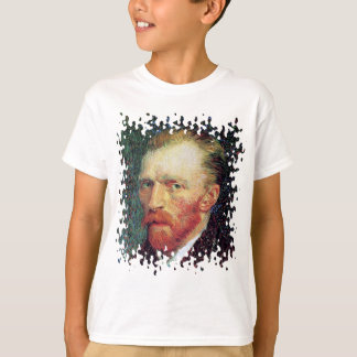 Vincent Van Gogh - Self-Portrait Pointillism Style T-Shirt