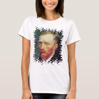 Vincent Van Gogh - Self-Portrait Pointillism Style T-Shirt