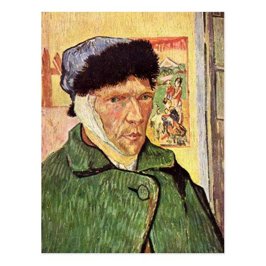 Vincent Van Gogh Self Portrait Postcard