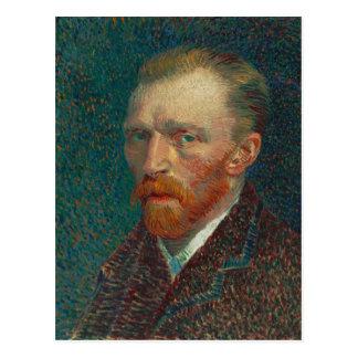 Vincent Van Gogh Self-Portrait Postcard