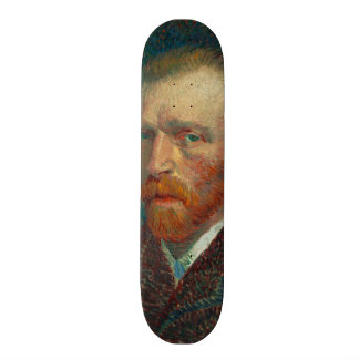 Vincent Van Gogh Self-Portrait Custom Skate Board