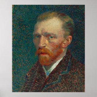 Vincent Van Gogh, Self Portrait Spring 1887 Poster
