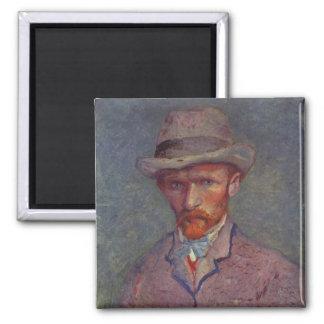 Vincent Van Gogh Self Portrait Suit Magnet